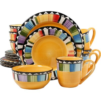Gibson Elite 16 Piece Dinnerware Set 72552.16RM