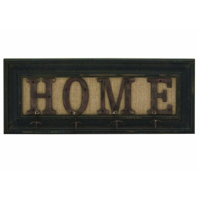 Farmhouse Home Framed Wall Hook