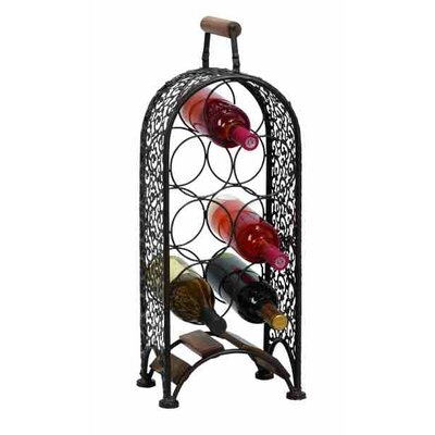 7 Bottle Floor Wine Rack