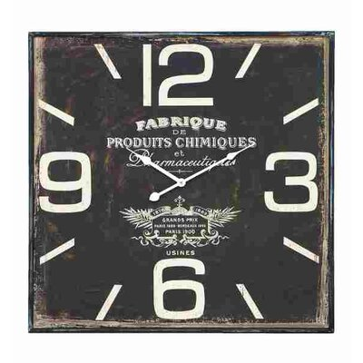 Oversized Vintage French Inspired Wall Clock