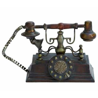 Decorative Rustic Telephone