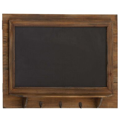 Blackboard Wall Shelf with Hook
