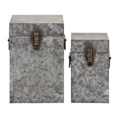 2 Piece Square Lock Box Set 21520