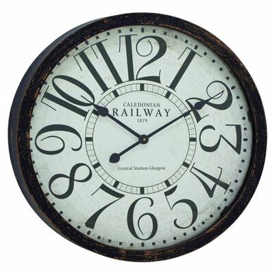 24 Oversized Old World Inspired Vintage Wall Clock