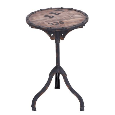 Rustic Style End Table