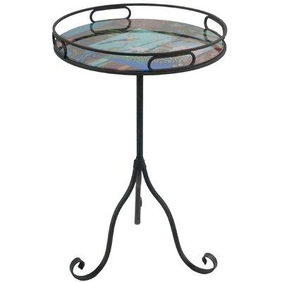 Bird Design Tray End Table