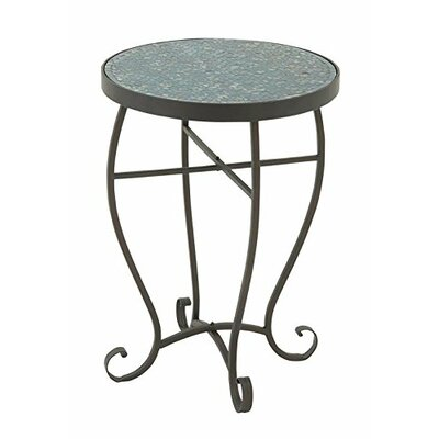 Lilliana Mosaic Metal End Table