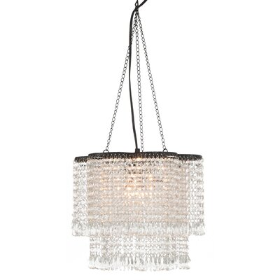 Loren 1-Light Crystal Chandelier