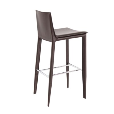 29 Bar Stool Upholstery: Brown