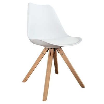Lugano Side Chair Finish: White