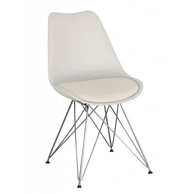Monza Side Chair Finish: White