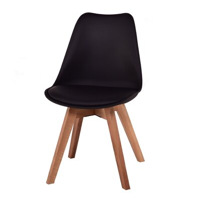 Como Side Chair Finish: Black