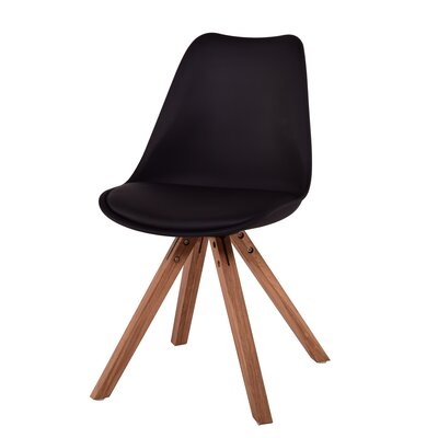Lugano Side Chair Finish: Black