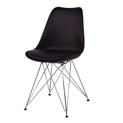 Monza Side Chair Finish: Black