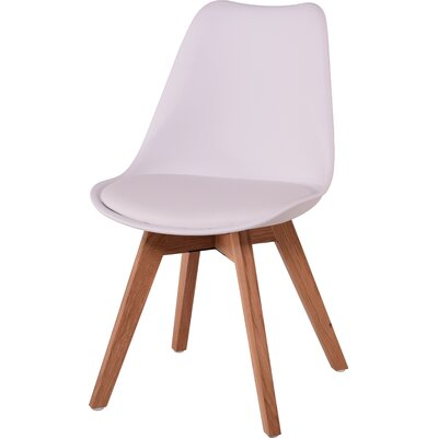 Como Side Chair Finish: White