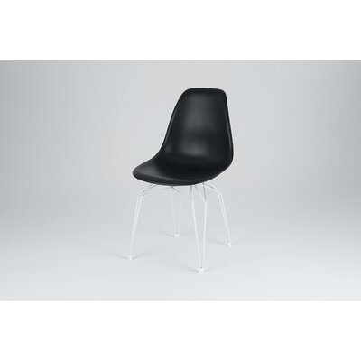 Icon Side Chair Finish: Black