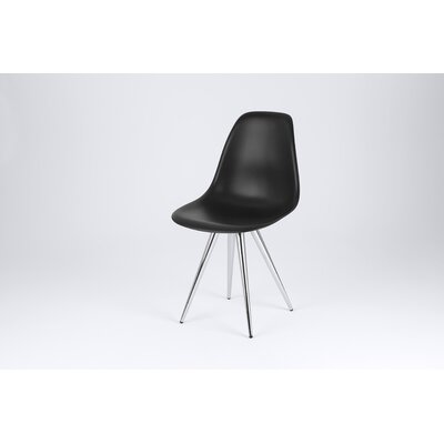 Angel Side Chair Finish: Black