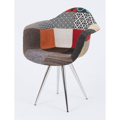 Angel Arm Chair Finish: Chrome