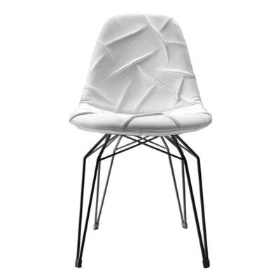 Diamond Side Chair Base Finish: Black