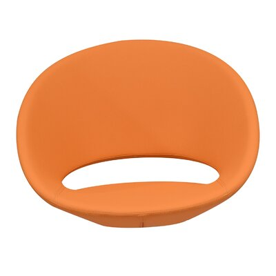 Lunar Side Chair Upholstery Type - Color: Orange