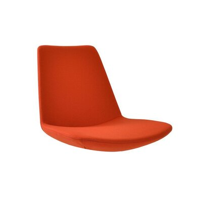 Electra Tower Side Chair Upholstery: Orange