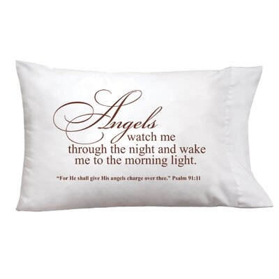 Sleep On It Angels Watch Pillow Case