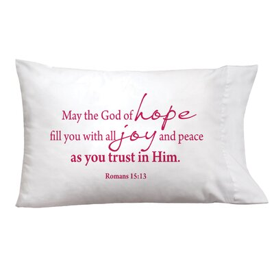 Sleep On It Hope, Joy, Peace Pillow Case