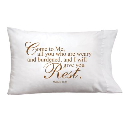 Sleep On It Come To Me Pillow Case