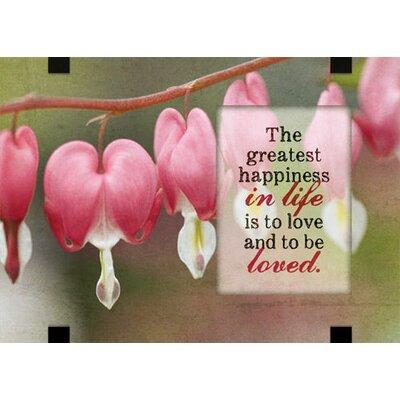 Life Love General Graphic Art Plaque 6824
