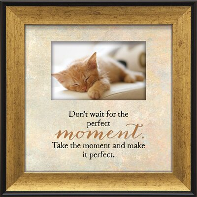Touching Thoughts Perfect Moment General Framed Textual Art 11022