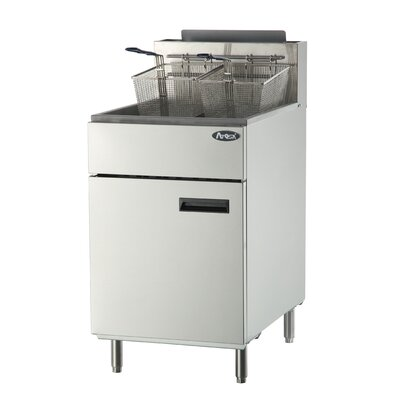 Deep Fryer with Natural Gas ATFS-75-NG