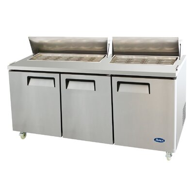 72 Refrigerated MegaTop Sandwich Prep Table