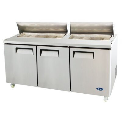72 Refrigerated Sandwich Prep Table