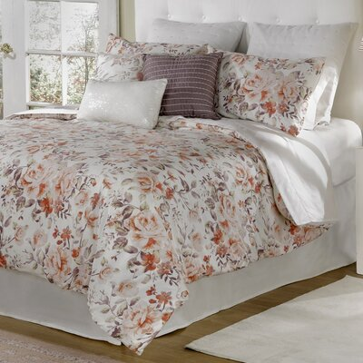 Antoinette 4 Piece Comforter Set Size: King