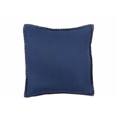 Isabella Denim Cotton Throw Pillow