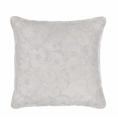Kingston Embroidered Cotton Throw Pillow