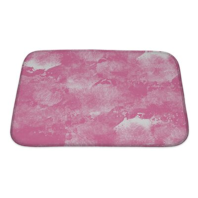 Art Primo Abstract Watercolor in Impressionism Style Bath Rug Size: Small