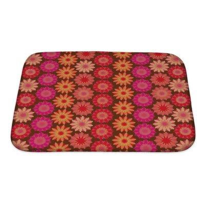 Kilo Crochet Floral Bath Rug Size: Small