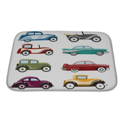 Cars Old Cars Set Bath Rug Size: Small