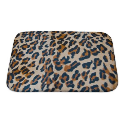 Animals Tiger Skin Bath Rug Size: Small