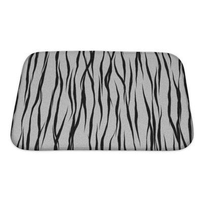 Alpha Animal Fur Bath Rug Size: Small