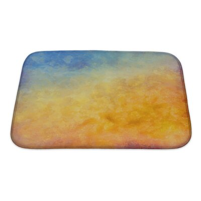 Art Primo Abstract Autumn Digital Oil Painting Bath Rug Size: Small