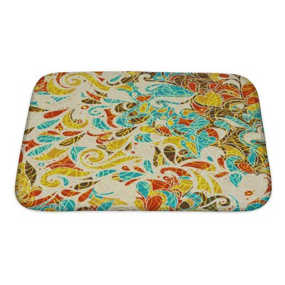 Kilo Retro Mosaic Bath Rug Size: Small