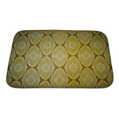 Beta Vintage Wallpaper Bath Rug Size: Small