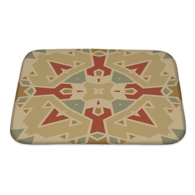 Creek Flat Ethnic Pattern Bath Rug Size: Small