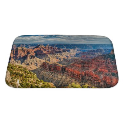 Landscapes North Rim of the Grand Canyon Bath Rug Size: Large
