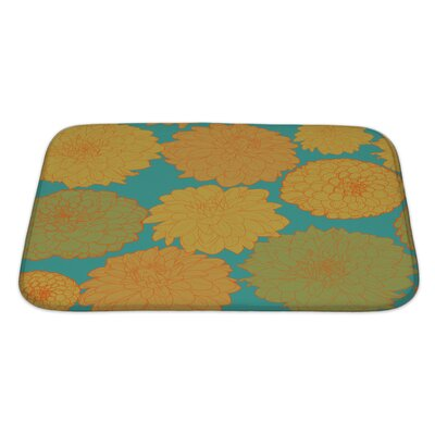 Flowers Amazing with Flowers Bath Rug Size: Large