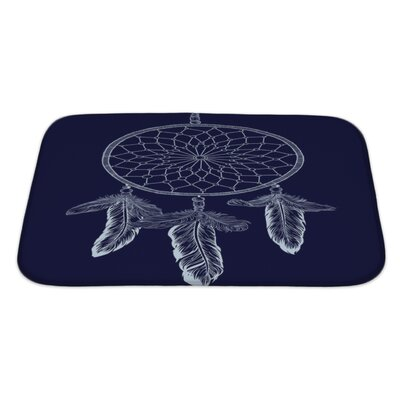Tribal Dream Catcher Bath Rug Size: Large