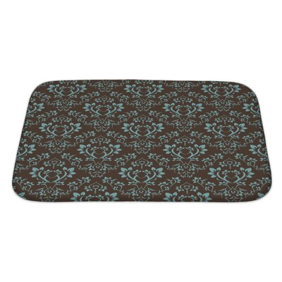 Alpha Floral Bath Rug Size: Large