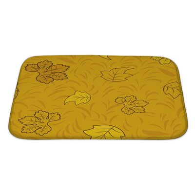Slide Creative Pattern Bath Rug Size: Large
